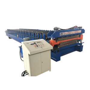Double Deck Roll Forming Machine For Roof Sheet