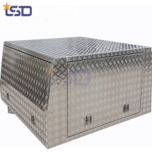 Безопасный первичный алюминиевый ящик для инструментов грузовика Ute для защиты от пыли
