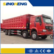 Camión volquete de la explotación minera de China HOWO con el cuerpo fuerte