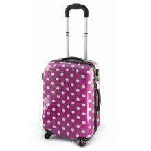 Nouveau sac de voyage de mode valise pourpre PC Bagages (HX-W3630)