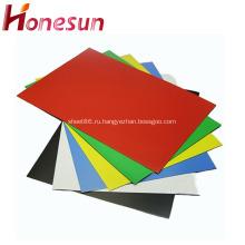 A3 A4 Бумажный резиновый магнит с цветным ПВХ