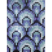 Glass Mosaic Mirror Diamond Mosaic Pattern (HD030)