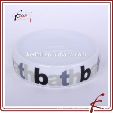 Stock Keramik Seifenschale mit Logo bedruckt