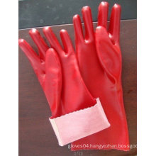 PVC coated working gloves with smoth finish