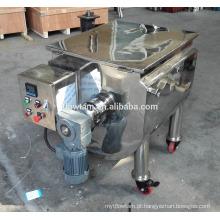 Misturador horizontal de misturador de fita em pó e líquido