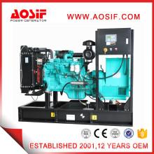 Diesel generator with diesel marine engine