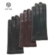 Nappe soft personalizado luvas de couro touch screen