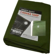 Cotton Canvas Tarp Sheet Tent Tarpaulin for Outdoor