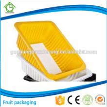 PP Eco-Friendly que refrigera o empacotamento de alimento plástico comercial usado em Carrefour