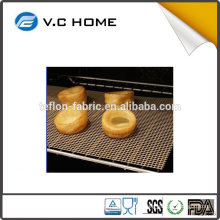 Non Stick Easily Cleaned PTFE Material PTFE teflon BBQ grill mesh mat