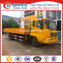 Dongfeng kingrun hydraulic boom truck crane for sale