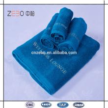 Высокое качество 16s сплошной цвет Рекламные пляжные полотенца хлопок Hotel полотенца наборы в Гуанчжоу