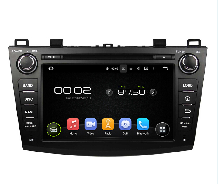 MAZDA 3 Car Audio Gps