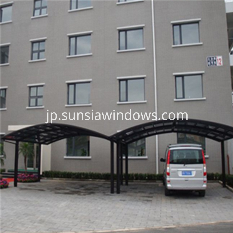 Aluminum Sunshade Carport