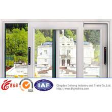 Venta caliente de China Gold Quality PVC Sliding Window