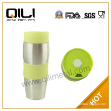 Stainless steel custom auto travel mug