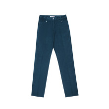 Ladies Corduroy Slim Trousers