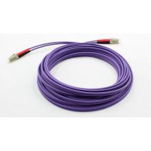 Оптический волоконно-оптический кабель Om4 с разъемом LC