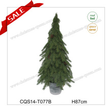 H87cm Hot Sale Plastic Christmas Supplies Decoration Christmas Tree