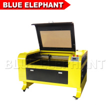 Máquina de corte láser ELE6090 co2 para madera, mdf, plástico, papel