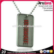 Marca de promoción Logo Antique Finish Dog Tags