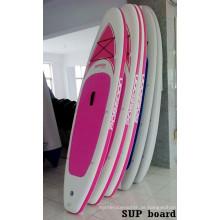 Hochqualitäts-Rosa-Frauen Sup-Brett für das Surfen
