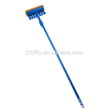 Extendable Handle Silicone Window Squeegee Cleaner Multifunctional Brush For Glass