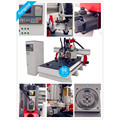 One time finish Milling Engraving Cutting no need operator SG1325 ATC -atc spindle cnc router
