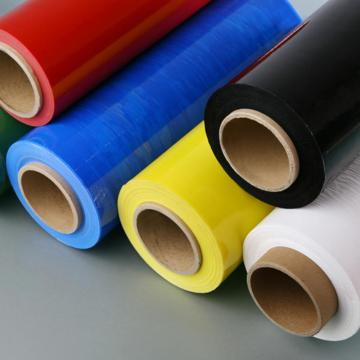 PE Color Stretch Film Hand Wrap