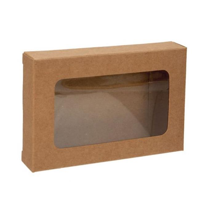Kraft Box With Window