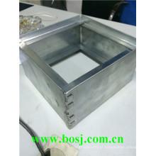 Air Flow Fire Shutter Frame Roll formando o fornecedor da máquina Singpore