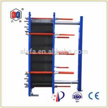 Chine en acier inoxydable chauffe eau, refroidisseur huile hydraulique Sondex 31 associés