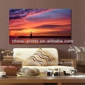 HD Wall Art Sunset Seaside Photos Canvas Painting panels