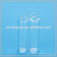 mini perfume empty glass bottle with plastic cap