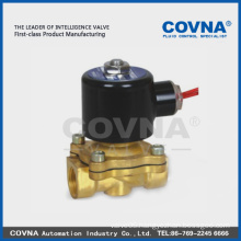 "2/2 air water oil normal close valve brass or stainless steel 3/4"" 12V solenoid valve direct lifting diaphragm solenoid valve"