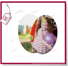 3′′ Sublimation Blank Oval Memorial Ceramic Tile Ornament