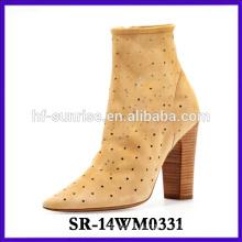 2014 fashion socks woman boot