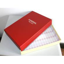 Boîte de papier d'emballage de carton de promotion pour des vêtements / boîte-cadeau d'habillement / boîte de empaquetage de vêtement
