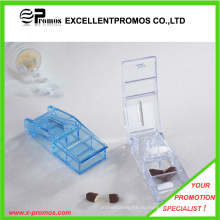 Пластиковый контейнер для пилюль с резаком для промотирования (EP-P412909)