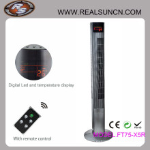46-дюймовый вентилятор Tower с пультом дистанционного управления с таймером