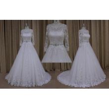 Старинные свадебные платья с аппликациями