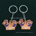 Пользовательские 2D и 3D Eco-Содружественный PVC keychains для подарков Промотирования