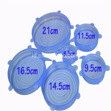 Dishwasher Safe 6 Pieces Silicone Bowl Cover