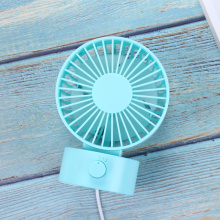 Mini USB Desk Fan Dual Blade Rechargeable Fan