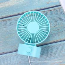 Mini ventilador de mesa ultra silencioso com alimentação USB