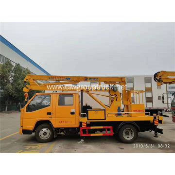 JMC double cab boom lifting truck for sale
