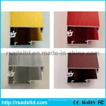 Cadre en aluminium coloré pour affiche