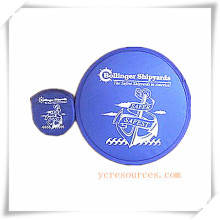 Faltbare Nylon Frisbee mit Logo gedruckt