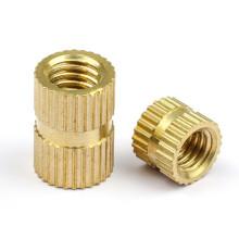 Brass Insert Nut M2 M2.5 M3 M4 M5 M6 Knurled Threaded Insert Nut for 3D Print