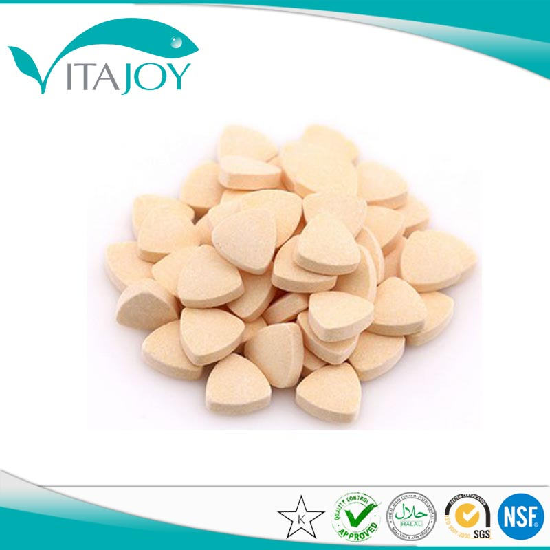 Collagen protein chewable tablet